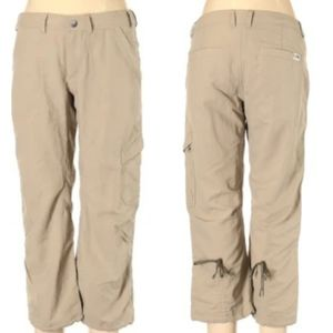 The North Face Convertible Cargo Hiking Pant Sz 10